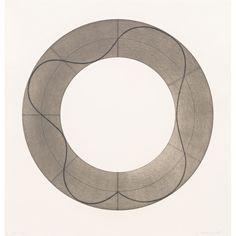Robert Mangold: Ring Image B, 2008   Pace Prints