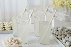 Eyelet White Dessert Table