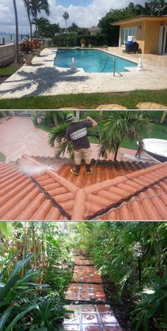 American Structural Corporate provides professional pressure washing services for houses, driveways, roofs, fences, decks, boats, parking lots, storefronts, sidewalks, gas stations and more.