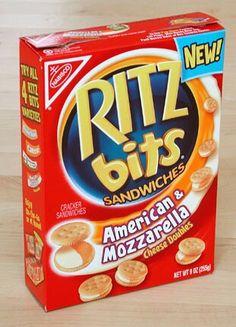 POP Kid Snacks, Lunch Snacks, Ritz Bits, Bone Apple Tea, Candy Drinks, Food Now, Ritz Crackers, Weird Food, Seasonal Food