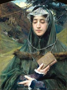 Edgar Maxence (French, 1871-1954). The Missal