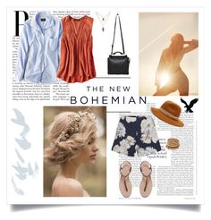 """""""The New Bohemian with American Eagle Outfitters: Contest Entry"""" by angiegdurant on Polyvore"""