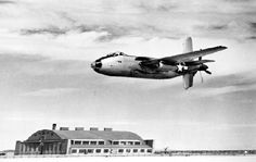 May 6, 1944: First flight of the Douglas XB-42 Mixmaster, American experimental bomber aircraft, designed for a high top speed, with two engines within the fuselage driving a pair of contra-rotating propellers mounted at the tail, leaving the wing and fuselage clean and free of drag-inducing protrusions.