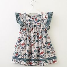 Flower Girls Dresses Kids Fly Sleeve Casual Dress For is cheap, come to NewChic and buy cute flower girl dresses now! Elegant Dresses, Cheap Dresses, Cute Dresses, Flower Girl Dresses, Summer Dresses, Party Dresses, Princess Dresses, Princess Tutu, Dress Girl