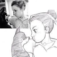 LimitedIQ Sketch by Banzchan