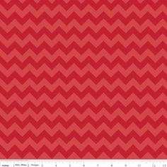 Riley Blake Designs Small Chevron in Tone on Tone Red. Pattern measures point to point. PLEASE NOTE: The Chevron is printed the length of the fabric which is parallel to the selvage. Chevron Fabric, Red Chevron, Red Fabric, Cotton Fabric, Chevron Quilt, Thing 1, Riley Blake, Modern Fabric, Free Sewing