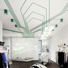 Inspiration: Geometric Patterns with Electrical Wiring | Apartment Therapy