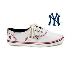 Womens Keds Champion MLB Pennant Yankees™ Casual Shoe