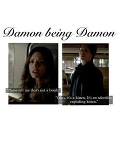 I rewatched this part like 5 times because it was so funny | See more about vampire diaries, the vampire diaries and damon salvatore.