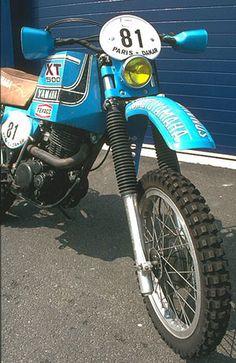 1981 Paris Dakar XT500