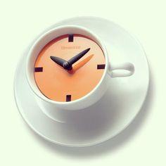 Coffee clock lol