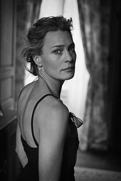Beauty, elegance, class, brains.  A true inspiration.  Peter Lindbergh :: Robin Wright, 2010