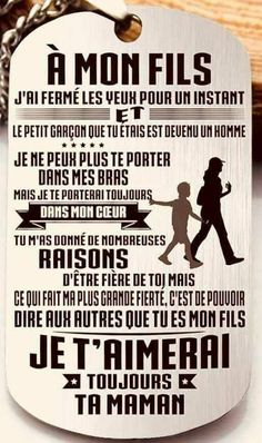 Phrase for a birthday of sons Bricolagefetedesmeres Cadeaufetedesmer