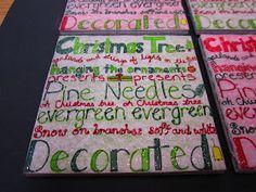 Classroom DIY: DIY Christmas Coasters
