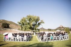 ceremony layout venue: malibu wine safari @saruphotography www.saruphoto.com -repinned from Los Angeles County, California wedding minister https://OfficiantGuy.com