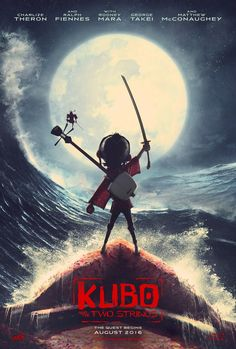 Kubo and the Two Strings(( first we were going to go to the drive in, then we were going to see this ..but happy with the boys final decision...love making memories ))