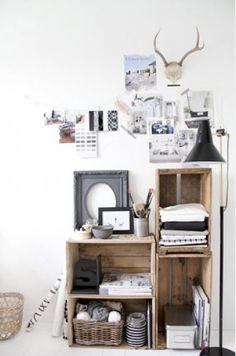 Handgemaakte en gerecyclede woonaccessoires! stylinghoekje - wood,grey,offwhite