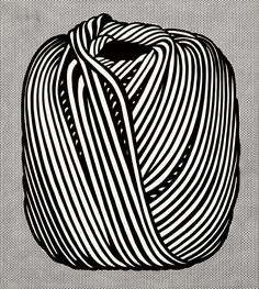 Ball of Twine, Roy Lichtenstein, 1963