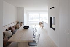 rolies + dubois architecten / penthouse d-m, duinbergen