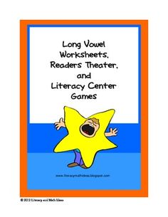 5 Long vowel sound reader's theater scripts, 6 literacy centers, and 23 worksheets are included in this document.     Your students will enjoy the breakfast cereal long vowel sorting games. Students review long vowel sounds by placing pretend cereal pieces into the correct cereal boxes. The reader's theater scripts are a unique way to review long vowel sounds. The 23 worksheets are a great way to review the long a, long e, long i, long o, and long u sounds and vowel pairs.