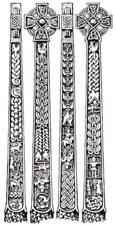 Norse carving patterns