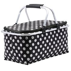 Picnic Basket, SUROY Insulated Folding Collapsible Market... https://www.amazon.com/dp/B01HS3SYXQ/ref=cm_sw_r_pi_dp_x_39pTyb6EJKAZB