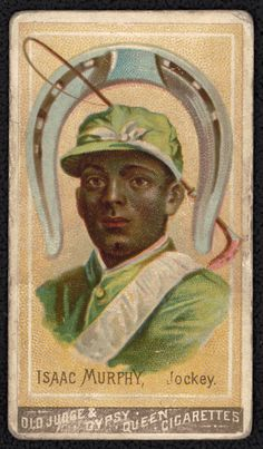 Despite his success, the sport Isaac Burns Murphy helped build disappeared from beneath him as white men pushed black jockeys out African American Artist, African American History, American Artists, Slavery History, Black Cowboys, Black History Facts, Black Image, African Diaspora, Art Pictures