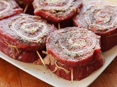 The Food Lab: How to Make Grilled Stuffed Flank Steak Pinwheels
