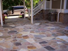 Image result for Western Dark Orchard Irregular flagstone patio