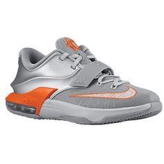 womens nike kd 7 grey orange