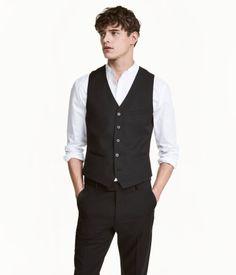 Suit Vest   Black   Men   H&M US  $24.99