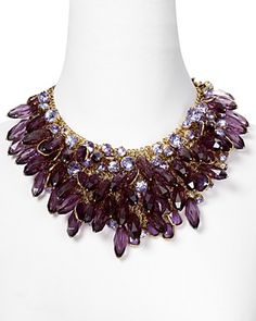 Milly Caralone Mesh Statement Necklace. LOVE this.