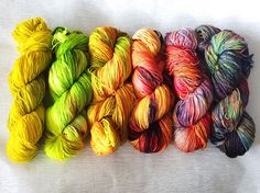 Find Your Fade Fade Kit Hand Dyed Yarn Fade Shawl Kit