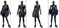 Dresses by Issey Miyake #LogoCore