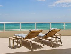 Exclusive Resorts Ft. Lauderdale at the Ritz-Carlton, Private Terrace