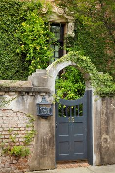 Gateway and Letter Box, Charleston, SC