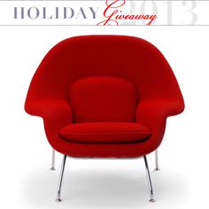 Enter for a Chance to Win: A Knoll Womb Chair from AllModern.com Holiday Giveaway | Apartment Therapy