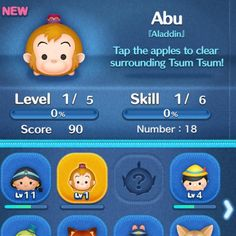 Who is playing the #aladdin event on #disneytsumtsum ? If you aren't your missing out on the the #adorable #abu who is helping #fight off #jafar and his #villianous ways!