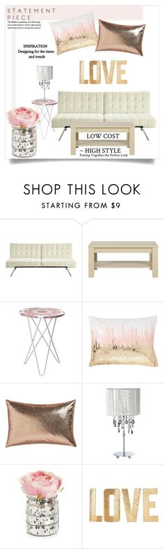 """""""That Shine (For Under $500)"""" by orietta-rose on Polyvore featuring interior, interiors, interior design, home, home decor, interior decorating, Ameriwood, PBteen, CB2 and livingroom"""