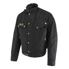 Barbour International Short Motorcycle Jacket - Black