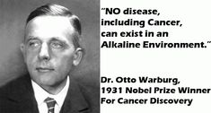 Dr. Otto H Warburg, who is a Nobel Prize Winner, found out what really causes cancer and he has proven that all types of cancers occur from an oxygen deficiency in the organism. Once you're lacking…
