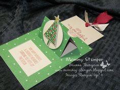 Pop Up Slider Card with Mommy Stamper - YouTube