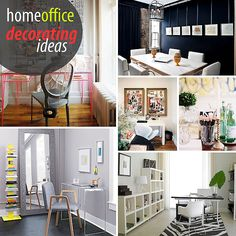 Superbe Creative Home Office Decorating Ideas