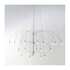$1620.00 LBL Lighting TwiLight Glass Teardrop 20 Light Chandelier