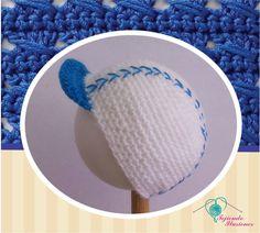 Modelo N° 60: Gorra de beisbol color azul, tradicional gorra para los mini jugadores del beibol  #besibolhat #besibolcrochet # crochet #gorros