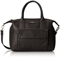 Women's Shoulder Bags - Fossil Blake Satchel Shoulder Bag Black One Size ** See this great product.