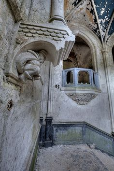 Chateau de Miranda, Incredible interior detail.