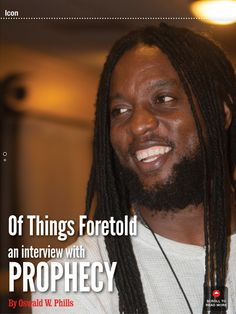 Prophecy the next Icon from Jamaica Jamaica, Read More, Interview, Bring It On, Magazine, Negril Jamaica, Magazines
