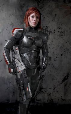 FemShep Armor, Valkyrie Rifle, + Omniblade (Mass Effect - Page 23 Amazing Cosplay, Best Cosplay, Female Cosplay, Armor Cosplay, Medieval Combat, N7 Armor, Body Armor, Mass Effect Cosplay, Mass Effect Art