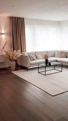 Home Design Living Room, Living Room Decor Cozy, Interior Design Living Room, Living Room Furniture, Modern Interior Decorating, Modern Home Furniture, Living Room Colors, Interior Ideas, Beige Living Rooms